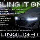Ford i-MAX LED DRL Light Strips for Headlamps Headlights Head Lamps Day Time Running Strip Lights
