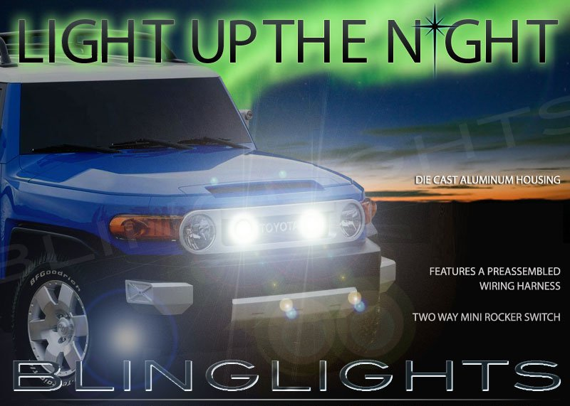 Toyota FJ Cruiser Auxiliary Off Road Driving Lights Kit