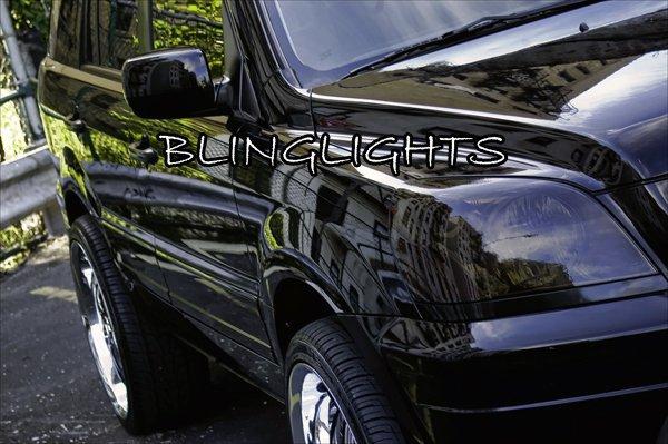 Honda MR-V Tinted Smoked Protection Overlays Film for Headlamps Headlights Head Lamps Lights