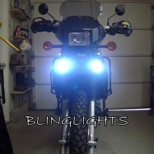 Kawasaki KLX400 KLX 400 Xenon Driving Lights Fog Lamps Drivinglights Foglamps Foglights Kit