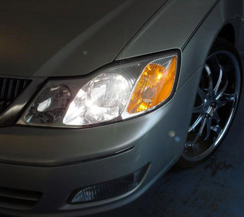 2000 2001 2002 2003 2004 Toyota Pronard Bright White Upgrade Light Bulbs for Headlamps Headlights