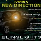 Subaru Liberty LED Side Mirrors Turnsignals Lights Accents Turn Signalers Lamps Blinkers Signalers