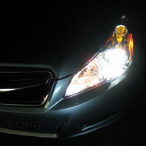 Subaru Liberty Bright White Upgrade Light Bulbs for Headlamps Headlights Head Lamps Lights