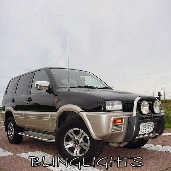 Nissan Terrano II Off Road Driving Lights Auxilliary Brush Bar Offroad Trail Lamps Kit