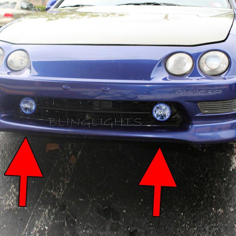 1994-2001 Acura Integra Xenon Fog Lamps Driving Lights Kit