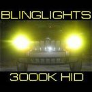 9012 3000K Yellow Gold Light Xenon HID Lamp Conversion Kit