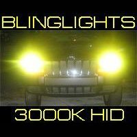 9012 3000K Yellow Gold Light Xenon HID Lamp Conversion Kit