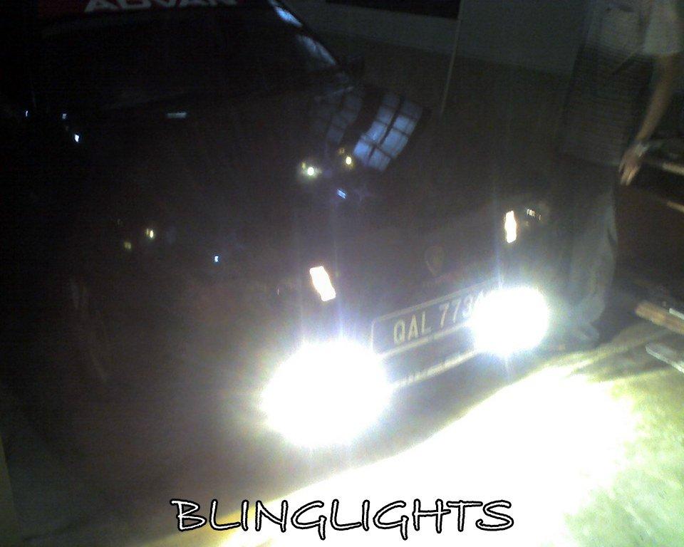 Proton Saga Iswara Xenon Fog Lamps LED Driving Lights Foglamps Foglights Kit