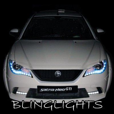 Europestar L3 LED DRL Light Strips for Headlamps Headlights Head Lamps Day Time Running Lights