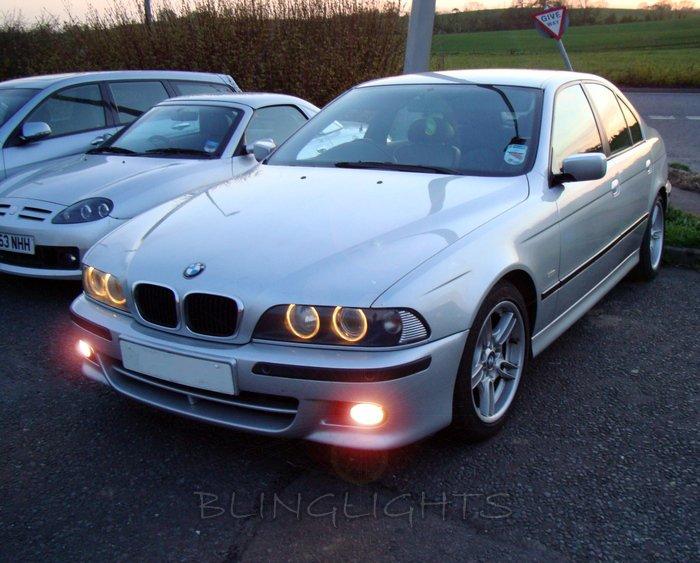 2000 2001 2002 2003 BMW 5 Series E39 M-Sport Xenon Fog Lamps Driving Lights Foglamps Foglights Kit