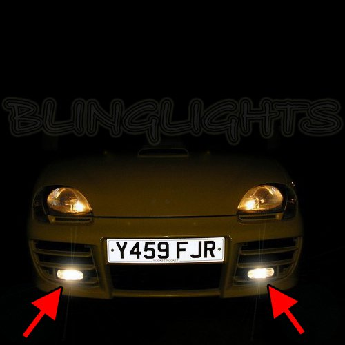 Fiat Seicento 600 Xenon Fog Lamps Driving Lights Foglamps Foglights Drivinglights Kit