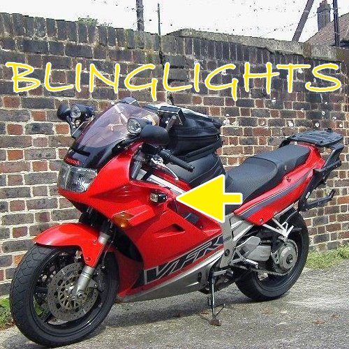 Honda VFR750F Xenon Driving Lights Fog Lamps Drivinglights Foglamps Foglights RC36 Kit
