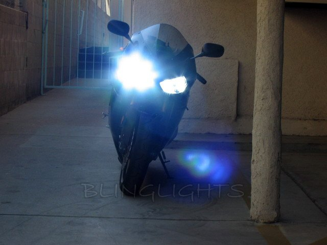 Kawasaki Ninja ZX-6R ZX6R ZX636R Xenon HID Conversion Kit for Headlamps Headlights Head Lights