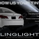 Toyota Avalon Tint Smoke Taillamps Taillights Overlays Film Protection