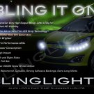 Daewoo Matiz LED DRL Head Light Strips Day Time Running Lamp Kit M100 M150 M200 M250 M300