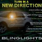 Ford Explorer LED Side Mirror Turn Signal Lamp Light Kit