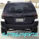 Mitsubishi Endeavor Tinted Smoked Protection Overlays Taillamps Taillights Tail Lamps Lights Film