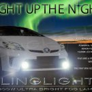 2012 2013 Toyota Prius Xenon Fog Lights Driving Lamps Two Three Four Five foglights foglamps kit