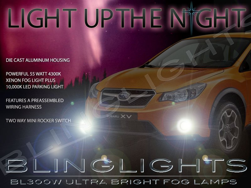 2013-2018 Subaru XV Crosstrek Fog Lamps Driving Lights