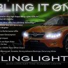 Subaru XV Crosstrek LED DRL Light Strips for Headlamps Headlights Head Lamps Day Time Running Lights