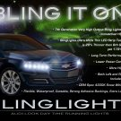 Chevy Impala LED DRL Head Light Strips Daytime Running Lamps Kit
