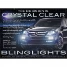 2006 2007 2008 2009 2010 2011 Mercedes-Benz ML LED Fog Lamps Driving Lights w164 Foglamps Kit