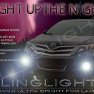 2013 2014 2015 Toyota Venza Xenon Fog Lamps Driving Lights Foglamps Foglights Kit