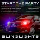 Toyota Yaris Strobe Light Kit for Headlamps Headlights Head Lamps Lights