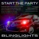 Toyota Yaris Strobe Light Kit for Headlamps Headlights Head Lamps Lights