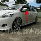 Toyota Belta LED Side Mirrors Turnsignals Lights Turn Signals Lamps Mirror Signalers