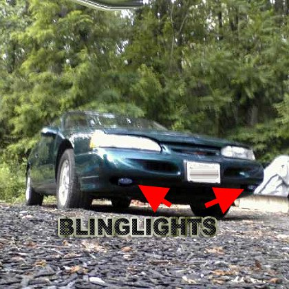 1994 1995 Ford Thunderbird Xenon Fog Lamps Driving Lights Foglamps Foglights Drivinglights Kit