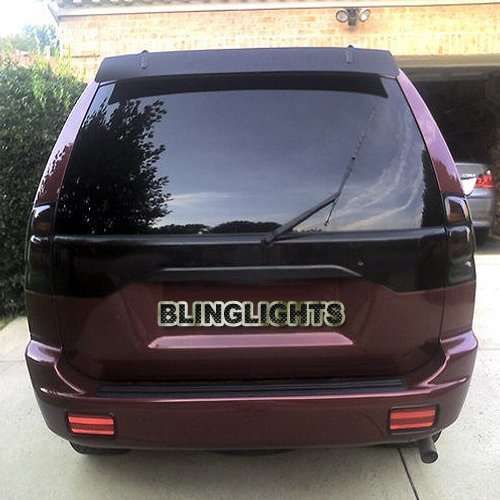 Mitsubishi Montero Sport Tinted Smoked Taillamps Taillights Tail Lights Lamps Protection Overlays