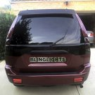 Mitsubishi G-Wagon Tinted Smoked Taillamps Taillights Tail Lights Lamps Protection Overlays Film