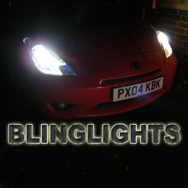 Toyota Celica GTS HID Replacement Bulbs for OEM Xenon Headlamps Headlights Head Lamps Lights