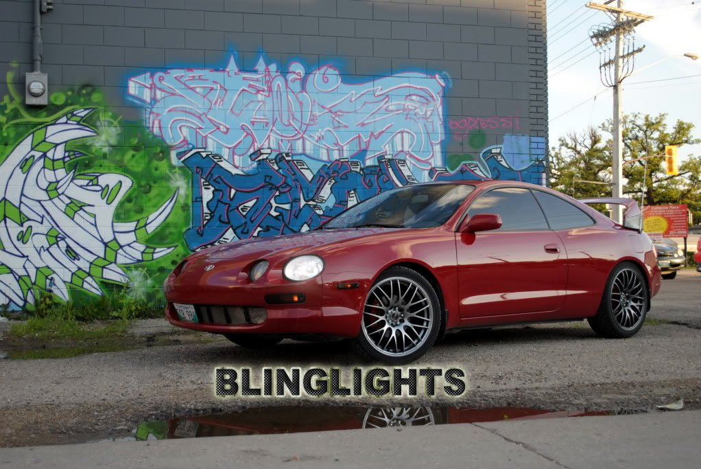 Toyota Celica Bright White Replacement Upgrade Light Bulbs for Halogen Headlamps Headlights