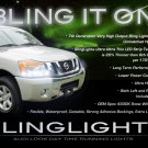 Nissan NV Cargo Passenger LED Strip Lights Headlamps Headlights DRLs NV200 NV1500 NV2500 NV3500 HD