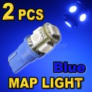 2 x BL300w Blue LED Replacement Parking Accent T10 194 168 2821 2825 W5W Map Dome Light Bulbs
