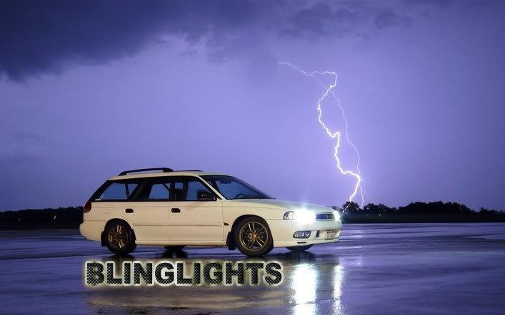 Subaru Legacy Bright White Upgrade Headlamp Headlight Light Bulbs BD BJ BK BE BH BL BP BM BR