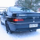 Peugeot 605 607 Tinted Smoked Taillamps Taillights Tail Lamps Lights Protection Overlays Film