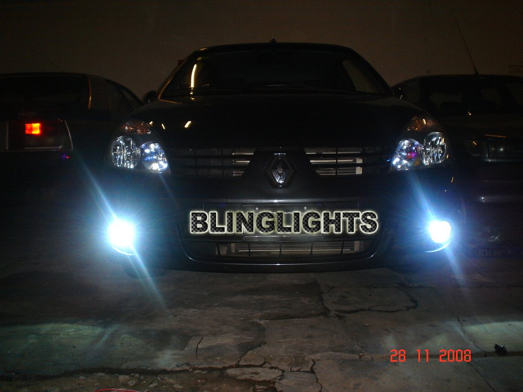 Renault Clio II Xenon Fog Lamps Driving Lights Foglamps Foglights Kit