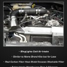 2007 2008 2009 2010 2011 Dodge Nitro 3.7L V6 Cold Air Motor Intake Carbon Fiber 3.7 L Engine CAI