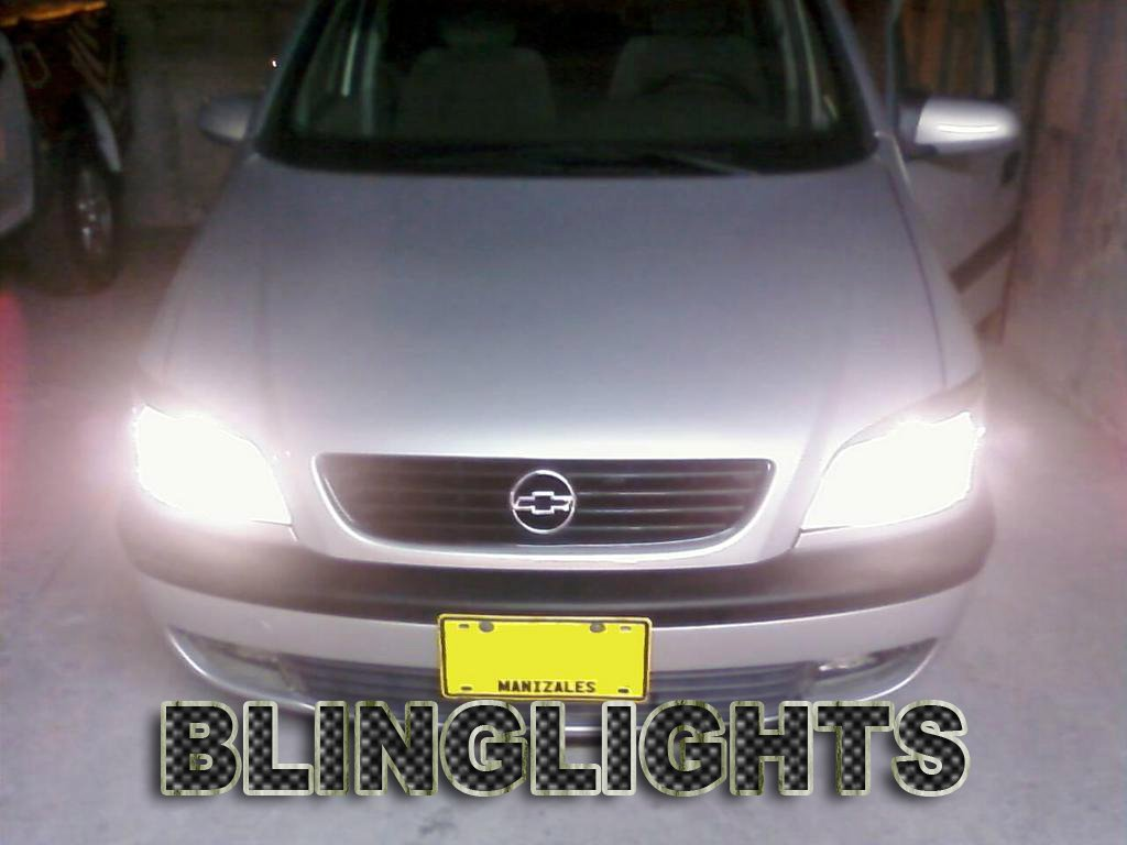 Chevrolet Chevy Zafira Bright White Replacement Upgrade Light Bulbs for Headlamps Headlights