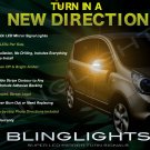 Nissan Note LED Side View Mirror Turnsignals Lights Mirrors Turn Signalers Lamps Signals Set