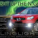 2010 2011 2012 2013 Nissan Qashqai Fog Lamps Lights Kit Xenon Foglamps Foglights Drivinglights