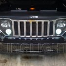 Jeep Liberty KJ KK Bright White Replacement Upgrade Light Bulbs for OEM Foglamps Foglights