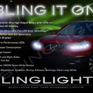 Nissan Qashqai LED DRL Light Strips Headlamps Headlights Day Time Running Lamps Strip Lights