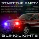 Mitsubishi Raider Strobe Light Kit for Headlamps Headlights Head Lamps Lights Police Strobes