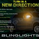 Mitsubishi RVR LED Side Mirrors Accent Turnsignals Lights Turn Signals Lamps Signalers