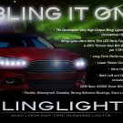 Ford Fusion LED DRL Head Light Strips Day Time Running Lamps Kit