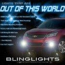 2013 2014 2015 Chevy Traverse Fog Lamp Driving Light Kit + Harness